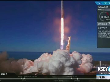 spacex launched 64 satellites today