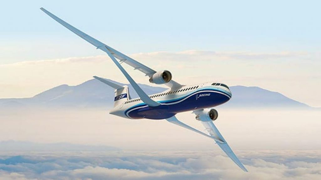 Boeing Takes The Covers Off Of A Transonic Wing Concept!
