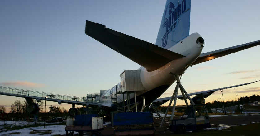 Jumbo Stay Is A Hotel Made From A Boeing 747 At Arlanda Airport!