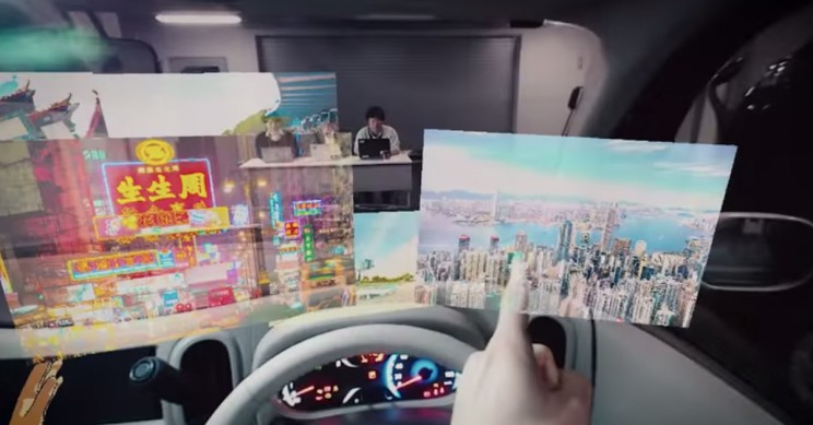 Nissan Shows Off Invisible-to-Visible Technology At CES 2019