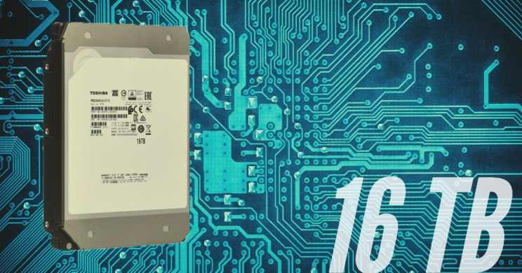 Toshiba's MG08 Series HDD Has a Storage Capacity Of 16TB