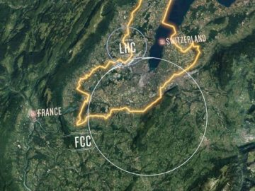 The Future Circular Collider Will Be Much Bigger Than LHC!