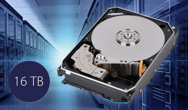 Toshiba's MG08 Series HDD Has a Storage Capacity Of 16TB