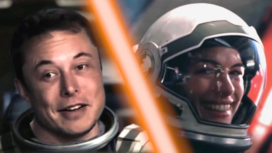 A Hilarious Mashup Starring Elon Musk In Interstellar