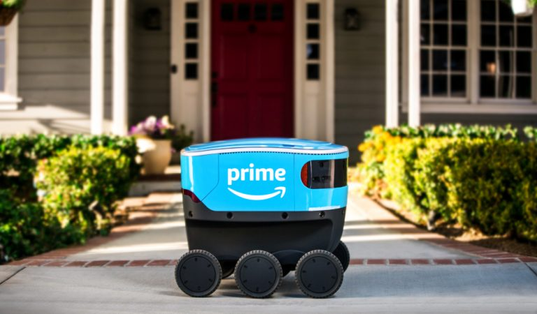 Amazon Scout Is A Ground-Based Robot For Making Deliveries