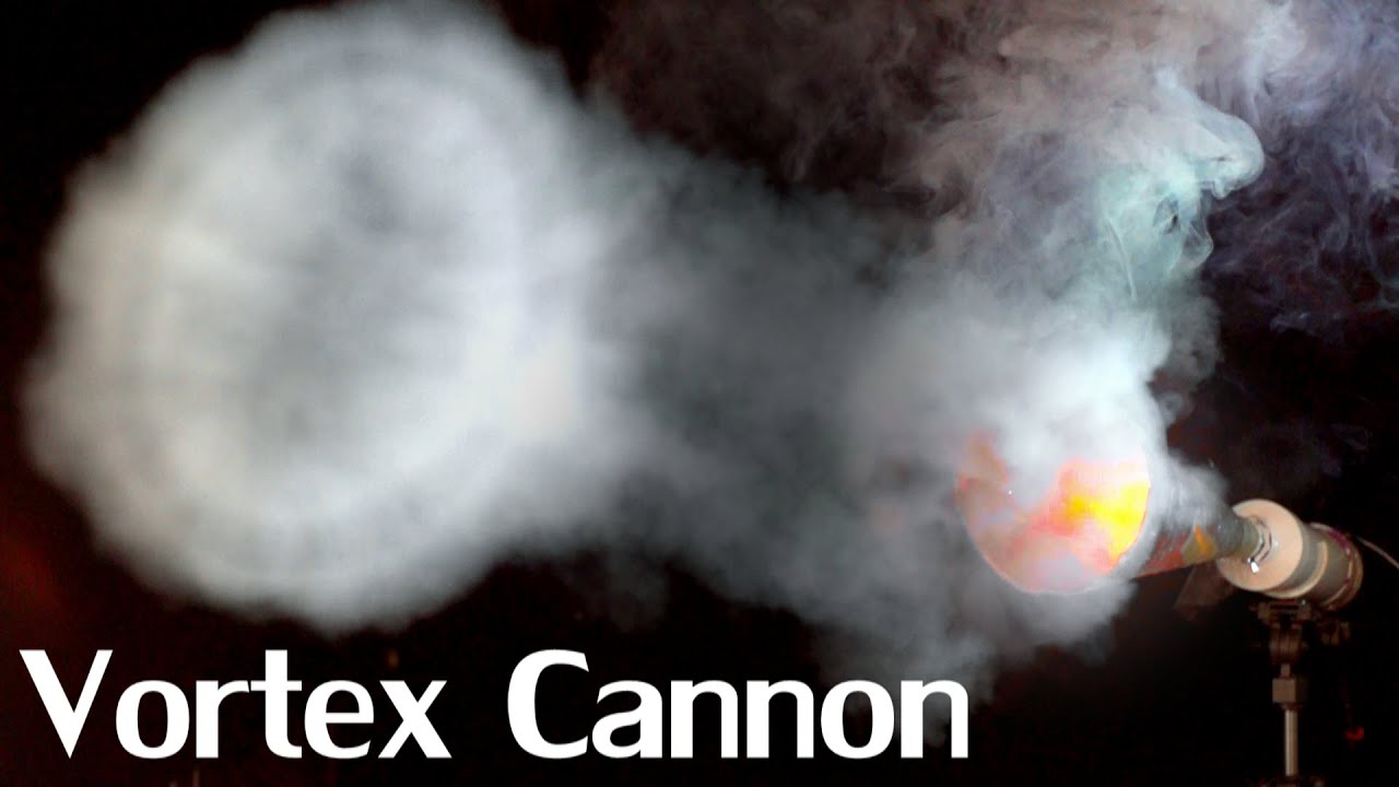 Create Your Own High Velocity Vortex Cannon