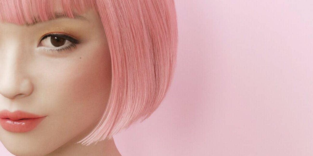 Imma Is The Japanese Virtual Model & Instagram Sensation!