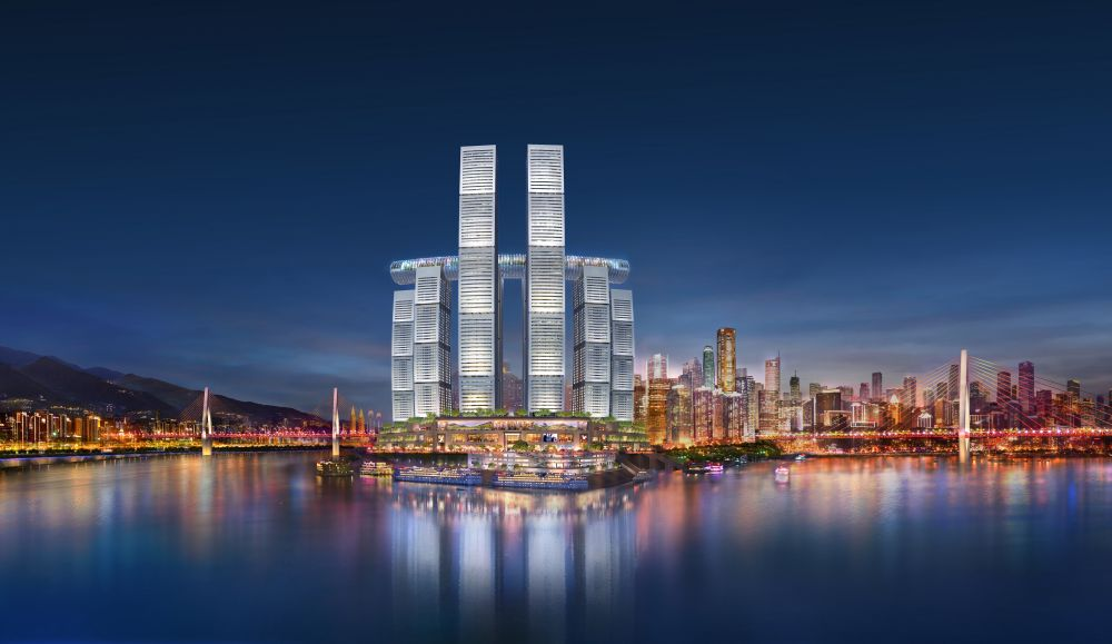 The Sky Corridor Is A Horizontal Skyscraper In Chongqing, China!