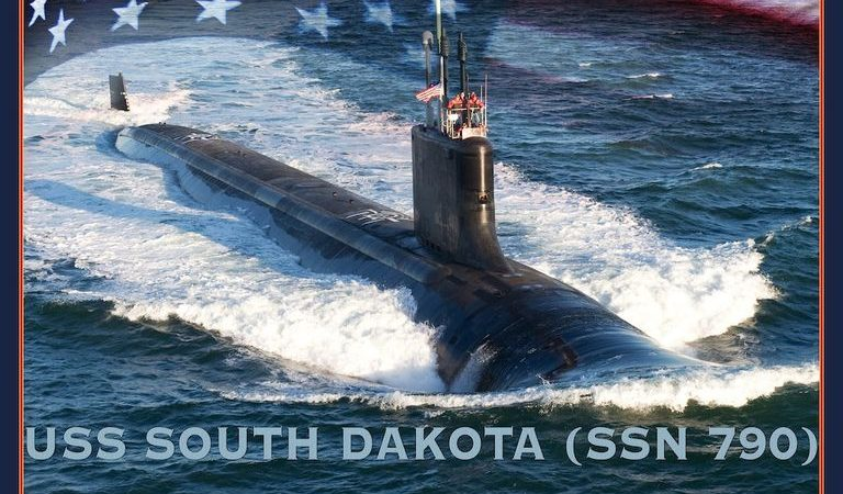 Take A Video Tour Of The New US Nuclear Submarine