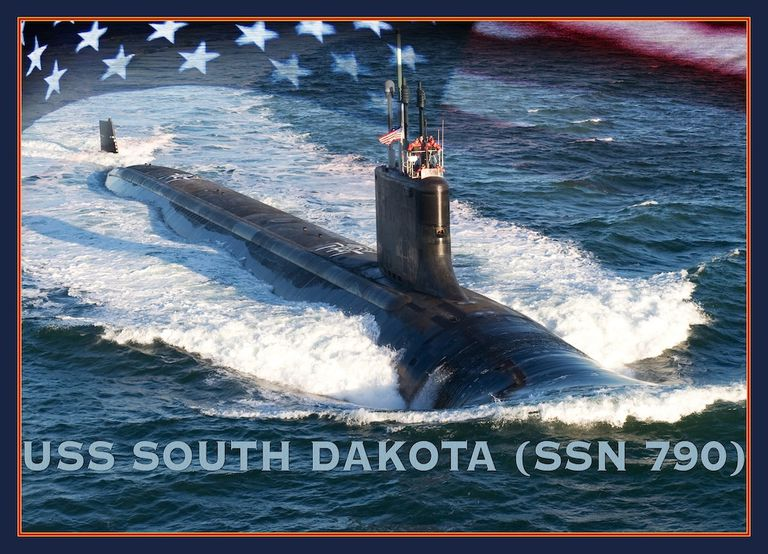 US Nuclear Submarine, South Dakota Is Ready For Commission!