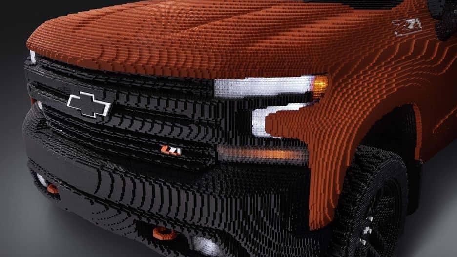GM and LEGO Come Together For Creating LEGO Silverado!