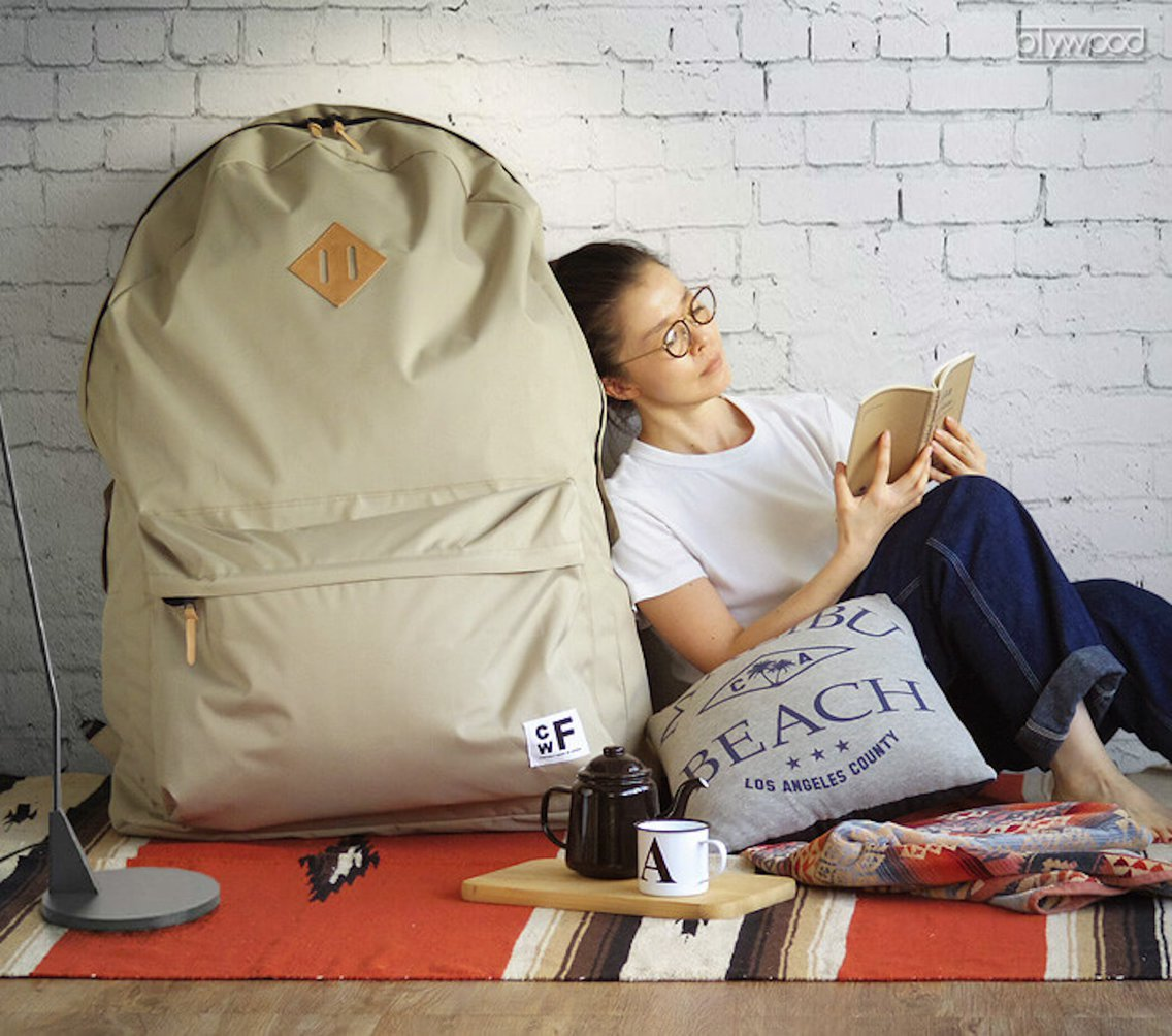 You Can Carry A Person In Backpacker's Closet By CWF