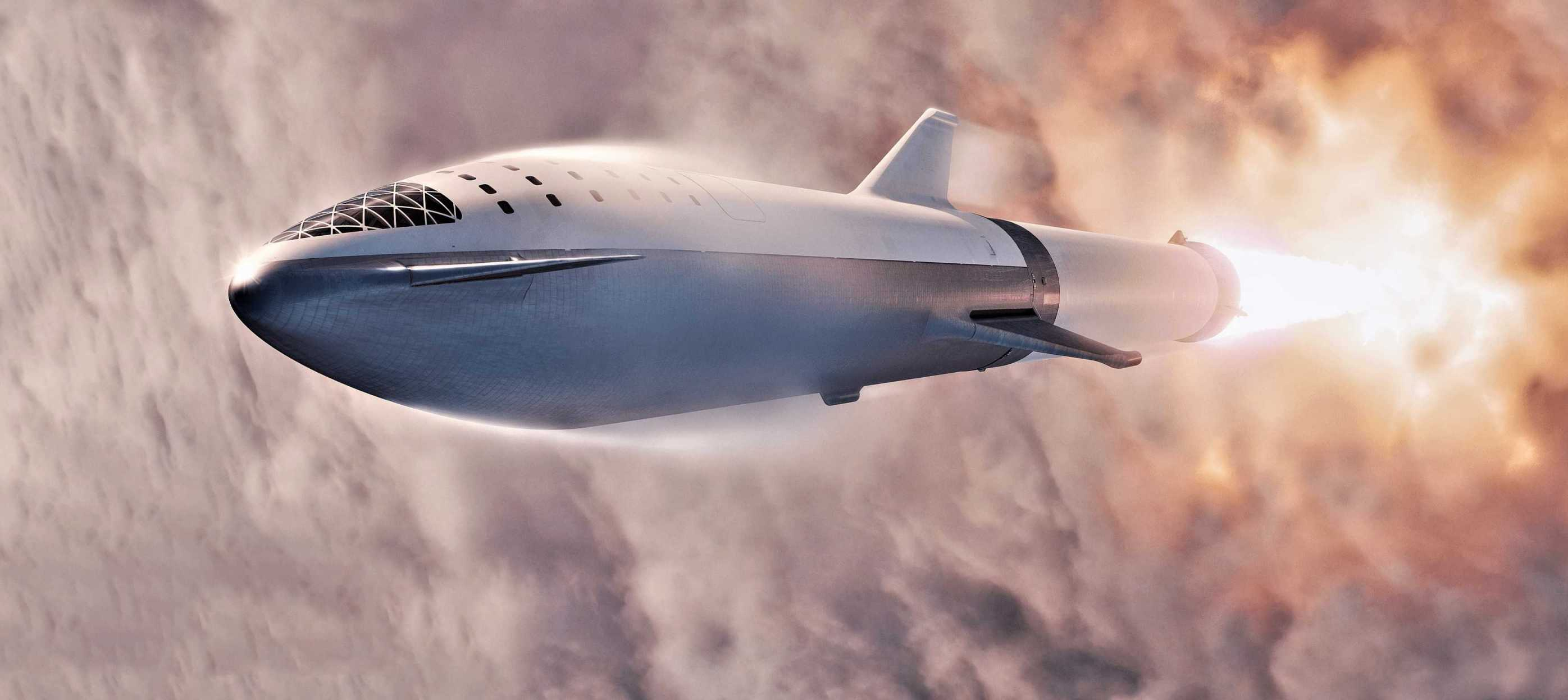Check Out The Final Look Of The SpaceX Starship