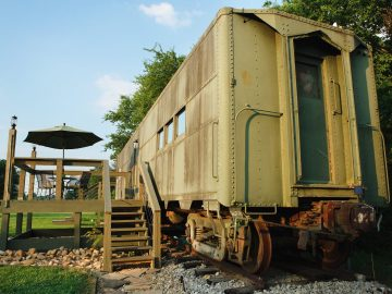 Platform 1346 Is A WWII-Era US Military Train Available On Airbnb!