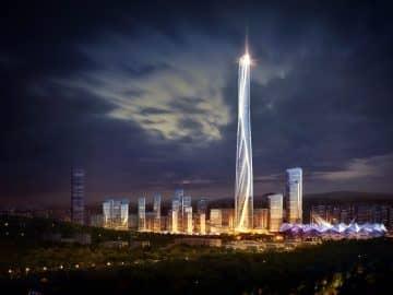 The Shenzhen-Hong Kong International Center Will Be 2nd Tallest Building!