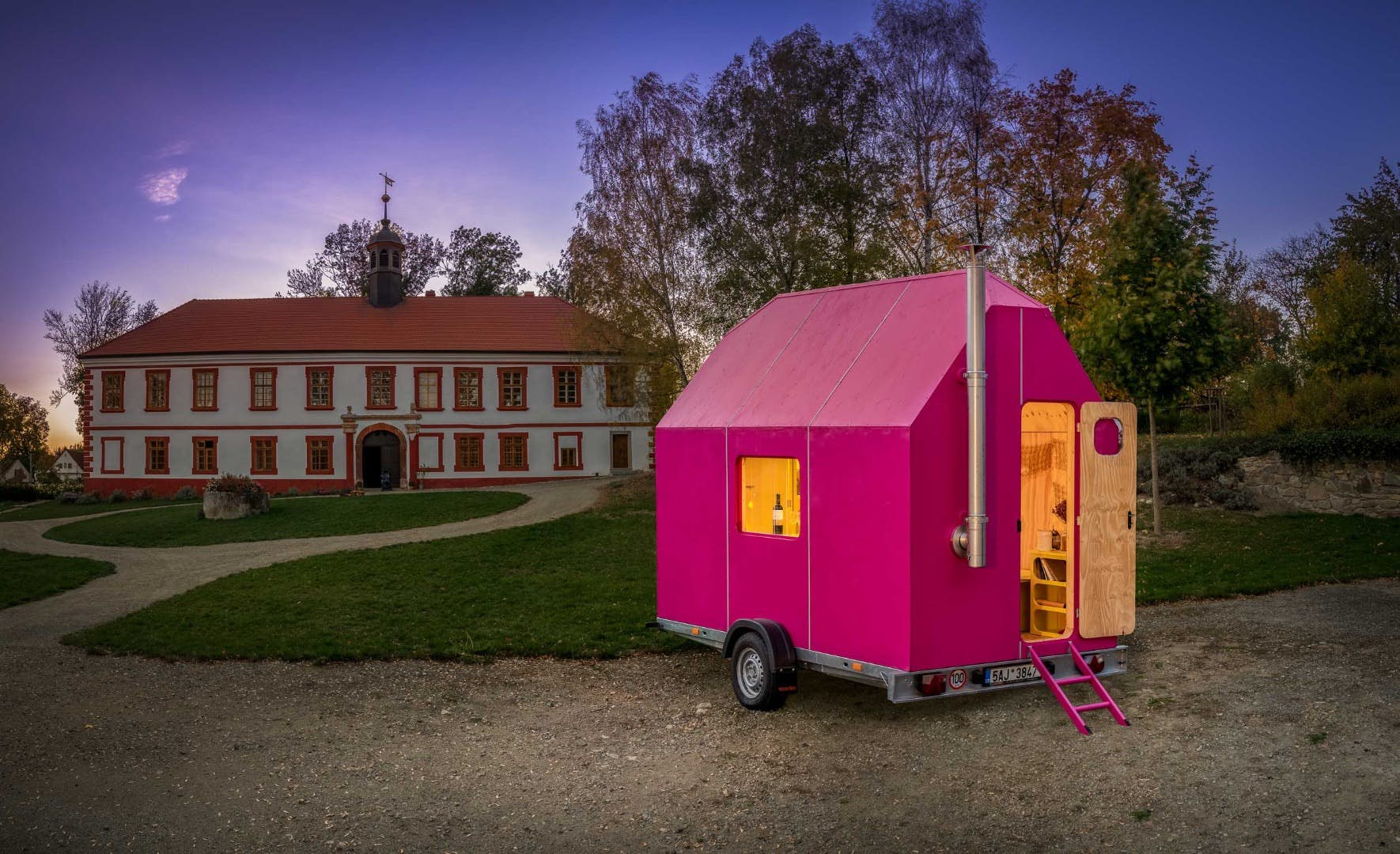 The Magenta By Pin-Up Homes Can Be Built Under $1,000