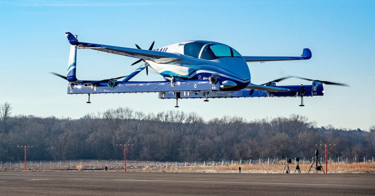 Boeing NeXt's Prototype Passenger Air Vehicle Has Begun Test Flights!