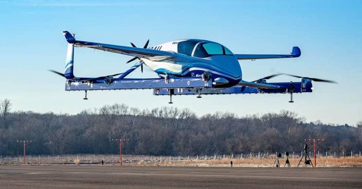 Boeing NeXt's Prototype Passenger Air Vehicle Has Begun Test Flights!