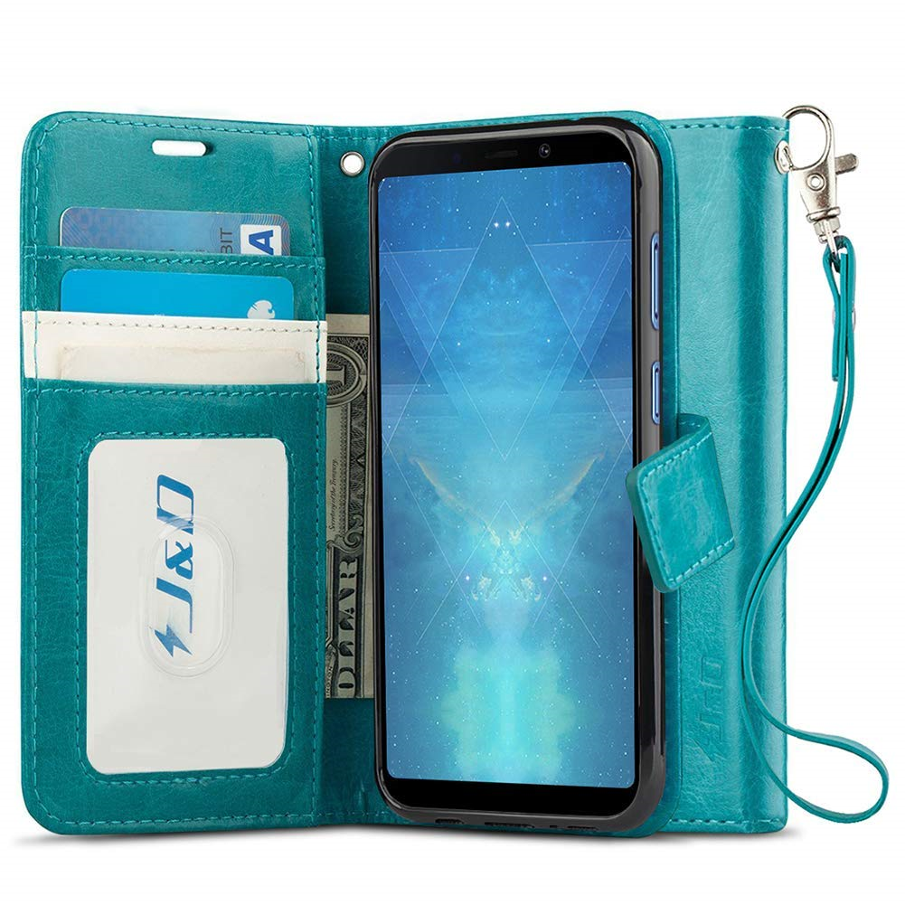 J&D Wallet Case for Samsung Galaxy A9