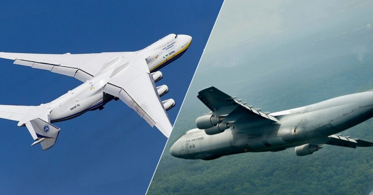 Check Out Eleven Of The World's Biggest Planes Ever!