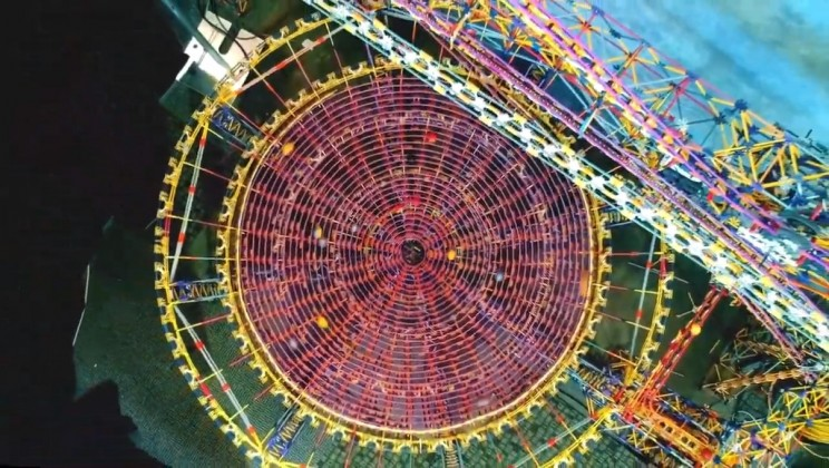 Check Out The World's Largest K'Nex Ball Machine!