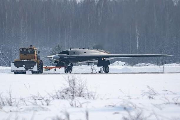 Pictures Of Russia's First Autonomous Strike Drone Okhotnik Have Surfaced!