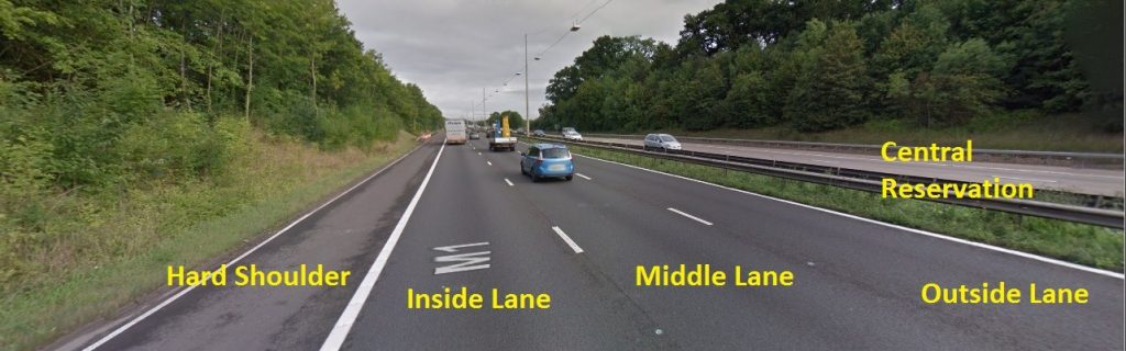 Should You Drive On The Inside Lane Or The Outside Lane?