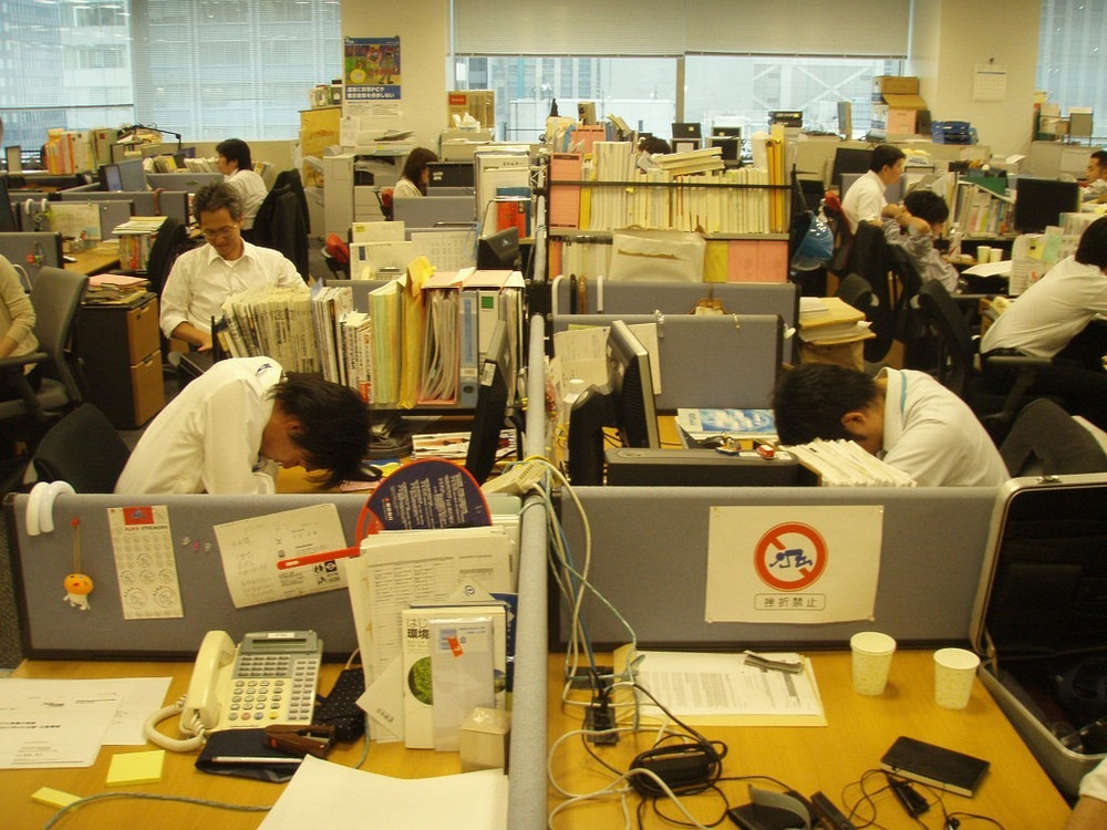 The Japanese Art Of Sleeping During Work - Inemuri!