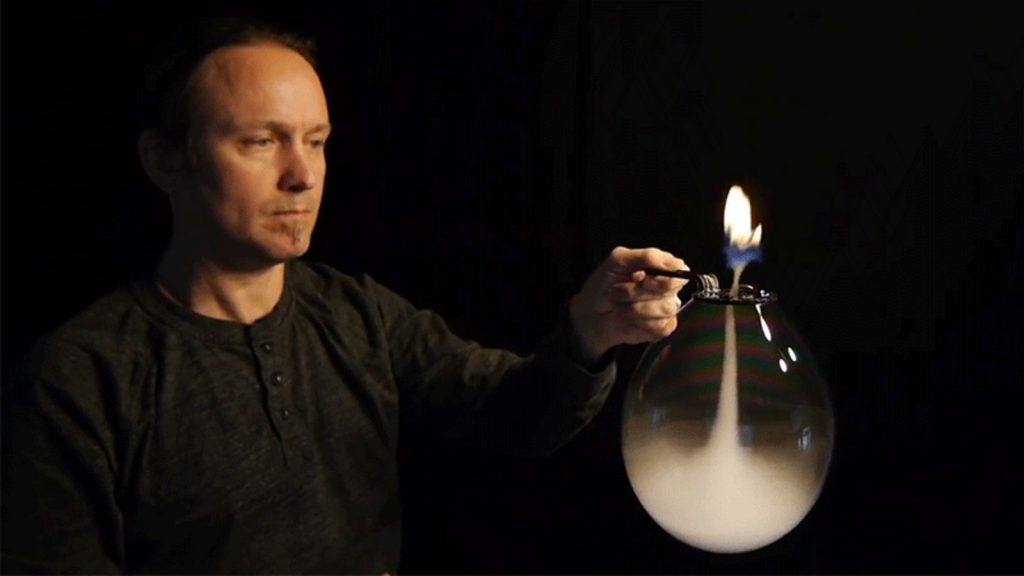 Dustin Skye & His Inverted Tornado Fire Bubble!