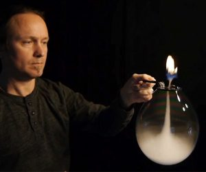 Dustin Skye & His Inverted Tornado Fire Bubble!
