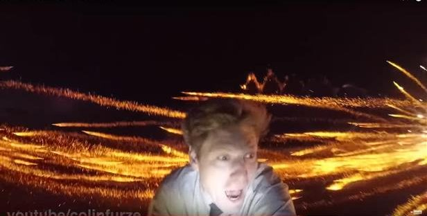 Check Out 'Firing 1,000 Rockets At 1,000 Rockets' By Colin Furze!