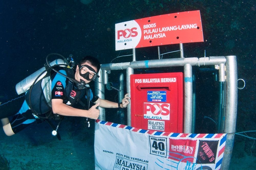 Underwater Mailboxes Around The World!