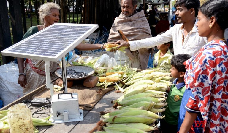 This Street Vendor In India Uses Solar Energy To Make Roasted Corn