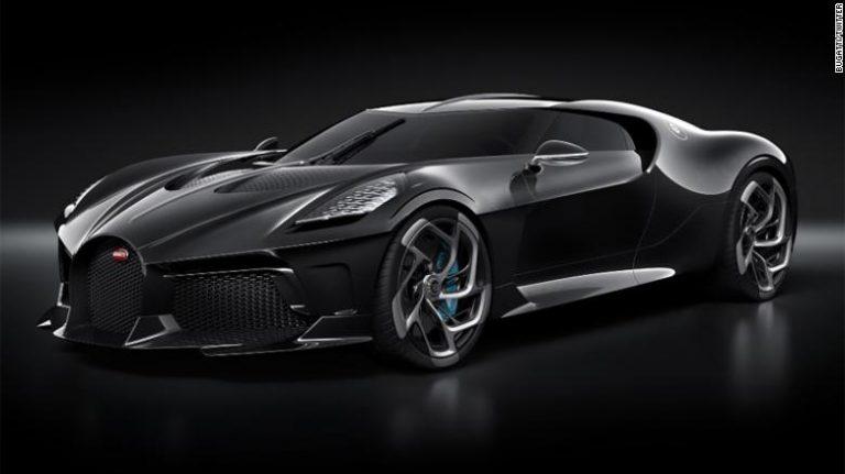 Bugatti La Voiture Noire Will Have A Price Tag Of $19 Million!
