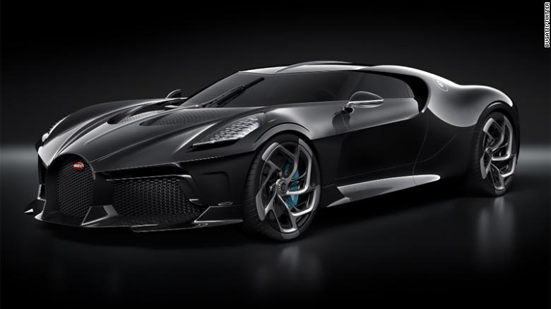 Bugatti La Voiture Noire Will Have A Price Tag Of $19 Million!