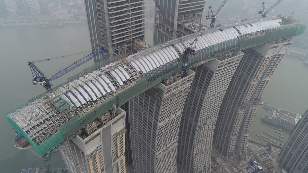 The Raffles City Chongqing Is Nearing Completion This Year!