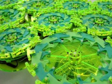 This Robotic Swarm Works Like A Biological Cell!