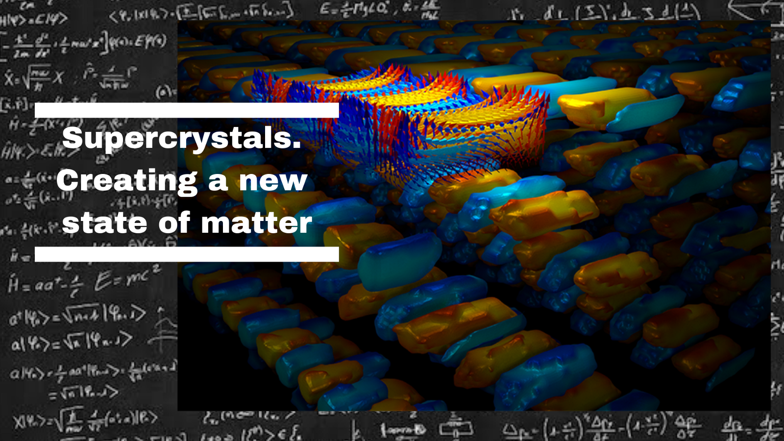 A New And Stable At Room Temperature State Of Matter Has Been Created!