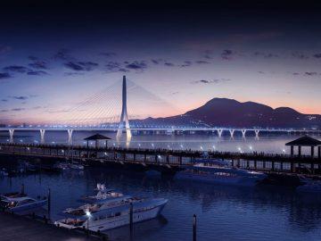 Construction For Danjiang Bridge By Zaha Hadid Architects Has Begun!