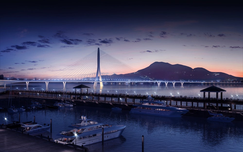 Construction For Danjiang Bridge By Zaha Hadid Architects Has Begun!
