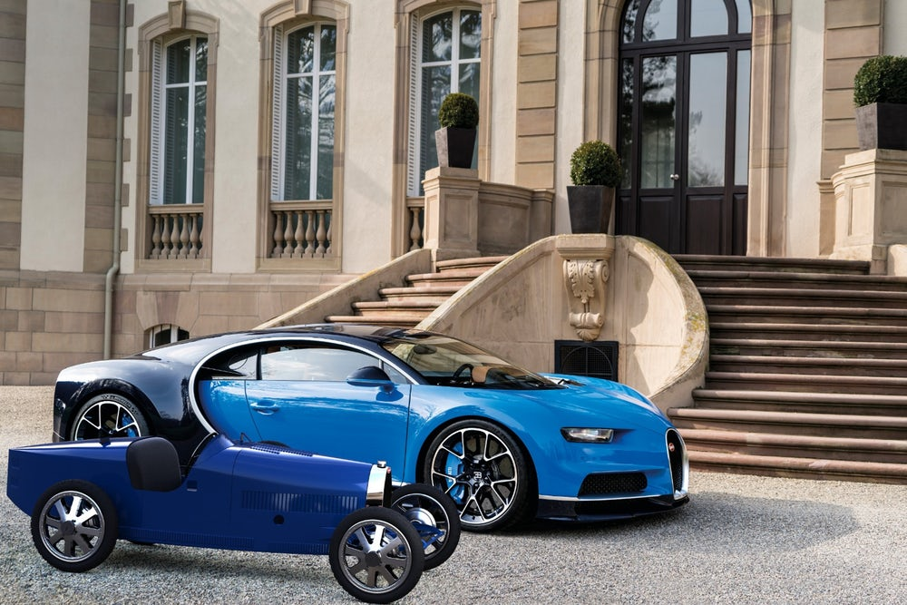Bugatti Baby II Is Being Manufactured For Company's 110th Anniversary!