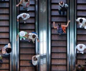 Walking On Escalator Causes Everybody Else To Be Slowed Down