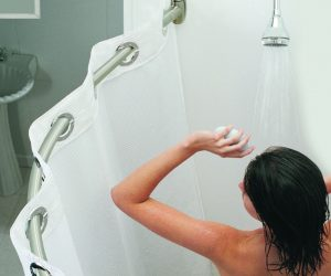 Why Are Shower Curtains So Clingy When You Are Showering?