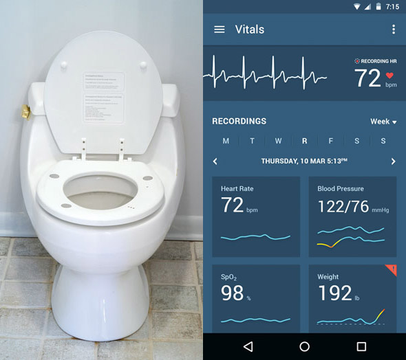 Smart Toilet Seat Can Measure Vitals Of Heart Patients