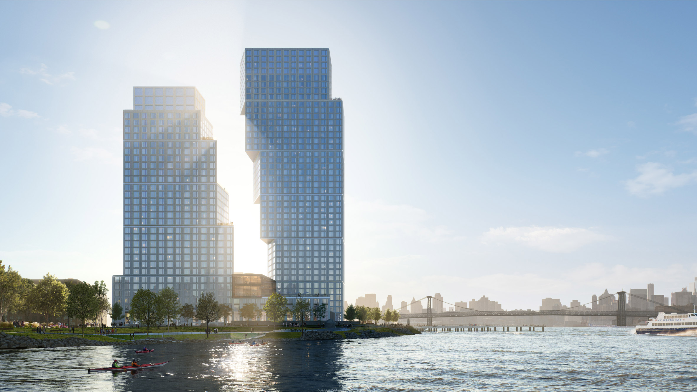 The Greenpoint Landing Project Is Comprised Of Two Dancing Towers!