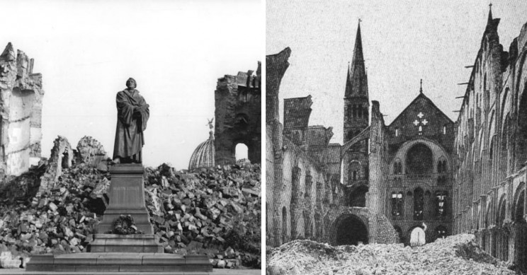 Five Famous Landmarks In Europe That Were Destroyed But Rebuilt!