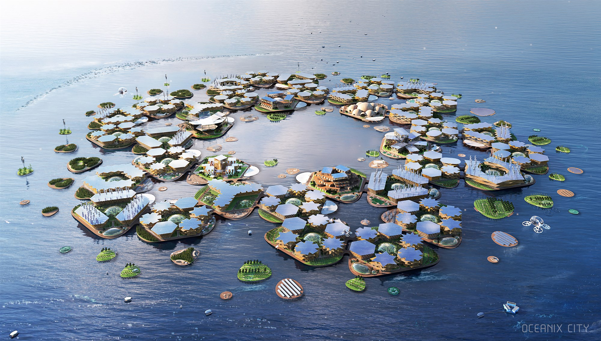 Oceanix City Project Is Climate-Proof & Has The Support Of UN!