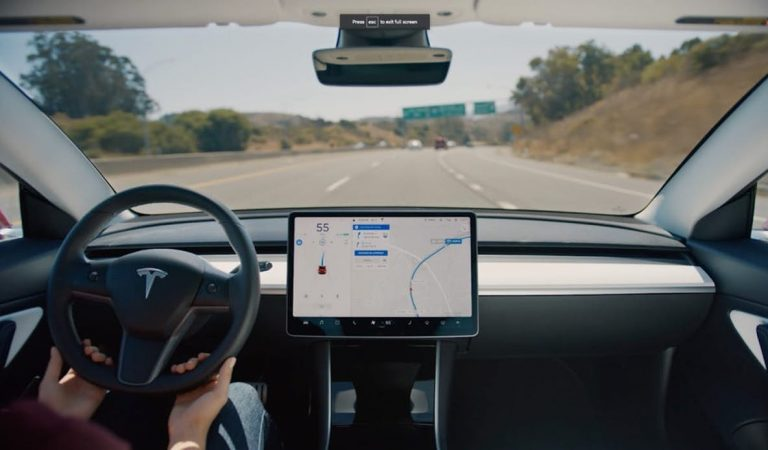 Tesla's New Autopilot Update Enables Cars To Change Lanes On Their Own