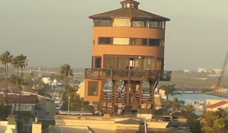 Take A Tour Inside World's First Water Tower House