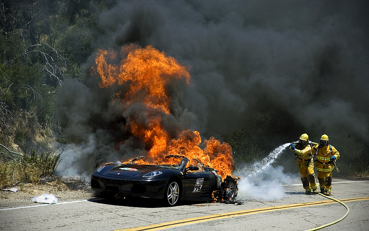 This Is How You Handle A Lithium-ion Battery Fire In An Electric Vehicle